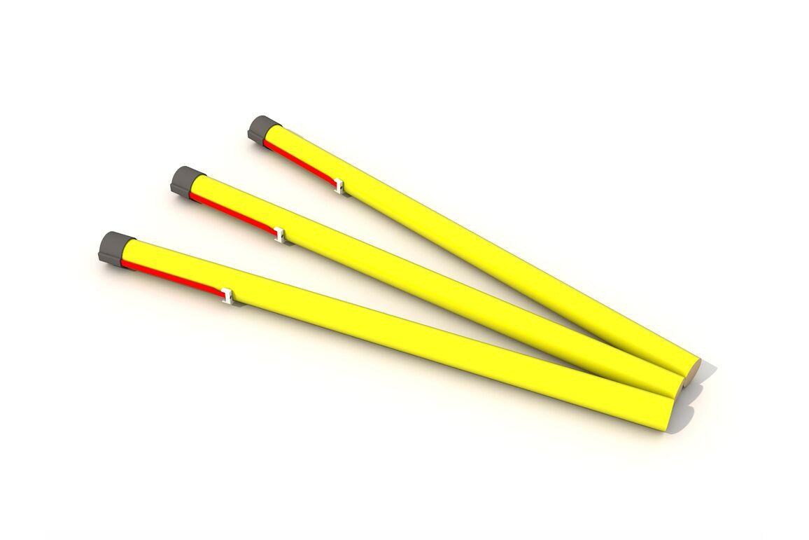 Yellow tail - 30mm, Art.-Nr. RL25-006-30